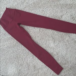 Lululemon  wonder under high waisted leggings